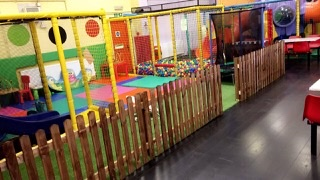 The baby area at Robbie Rascals in Clacton.  Perfect for kids under two to use with their parents.
